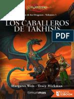 1 Los Caballeros de Takhisis - Margaret Weis