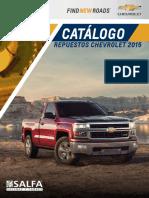 Catalogo Chevrolet 2015
