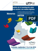 Memorias IARTEM 2017 Conferencia Latinoamerica-Colombia . 2016. PDF