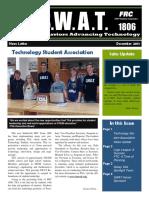 S.W.A.T. Dec 2013 Newsletter