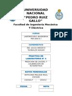 Lab 4 - Medicion de Caudal y Calibracion de Rotametros