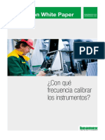 Beamex White Paper - How Often Should Instruments Be Calibrated ESP
