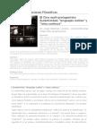Revista Observaciones Filosóficas - El Cine Multi-protagonista_ Autenticidad, _lenguajes Sutiles_ y _lotta Continua