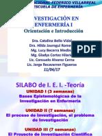 1 Orientación y Desarrollo Del Curso - Metaparadigma en Enfermería