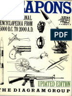 Weapons an International Encyclopedia From 5000 BC to 2000 AD the Diagram Group Text