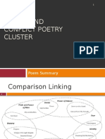 Power and Conflict Poetry Cluster