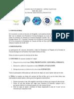 """Bases Concurso de Fotografía y Artes Plásticas """"Mes de Mar""""  Facultad de Ciencias Biológicas PUC"""