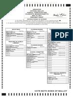 Falmouth Election May 16, 2017