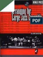 Dick Lowell & Ken Pullig - Arranging For Large Jazz Ensemble.pdf