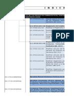 Indice Reglamentos_Normatividad Farmacéutica