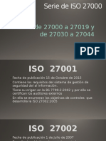Serie de ISO 27000