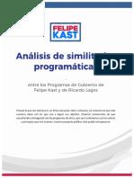 Propuestas de Ricardo Lagos que se suman a programa de Felipe Kast
