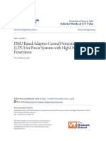 1. PMU-Based Adaptive Central Protection Unit (CPU) for Power System