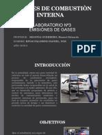 Laboratorio Nº3- Emisiònes de Gases