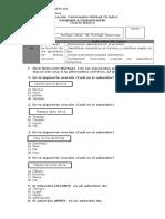 Evaluación Lenguaje 4° Básico Octubre (1)