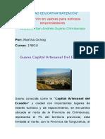 GUANO CAPITAL ARTESANAL DEL ECUADOR