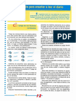 Propuesta Para Enseñar a Leer El Diario