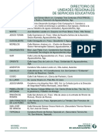 Directorio Unidades Regionales2016
