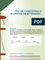 Límites de Consistencia o Límites de Atterberg (1)