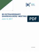 Extraordinary Shareholders' Meetings - 06.14.2017 - Management Proposal