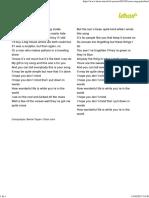 YOUR SONG - Al Jarreau (Impressão).pdf
