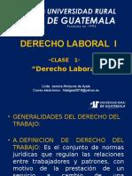 Consideraciones Generales e Instituciones Del Derecho Colectivo Del Trabajo