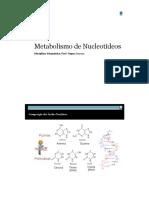 Metabolismo de Nucleotideos