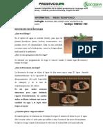 ANEXO 6 Hoja Informativa de Riego