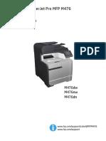 IMPRESORA HP COLOR LASERJET PRO MFP M476DN - Manual de Usuario.pdf