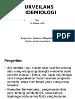 surveillansepidemiologi-110322090013-phpapp01.ppt