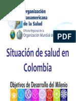 Situacion Salud Colombia y ODM Enero 2010