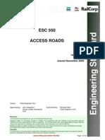 RailCorp - Access Roads Ver 1.1 2009 (ESC_550_V1_1)