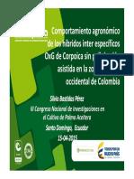 1 Comportamiento Hibrido OxG Silvio Bastidas