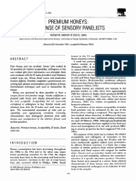 Food Quality and Preference Volume 3 Issue 4 1991 [Doi 10.1016%2F0950-3293%2891%2990036-E] Swanson, Ruthann B.; Lewis, Carol E. -- Premium Honeys- Response of Sensory Panelists