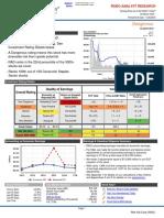 RAD Stock Valuation Report 2017-04-18