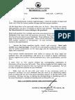 Remedial Law 2016 Bar Exams