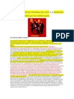 De Las Lucubraciones Cientistas de Lenin a La Esclavitud Real Del Proletariado Por Los Intelectuales