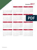 Calendario 2017 V