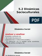 Dinámica Sociocultural