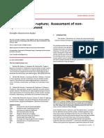 Achilles Tendon Rupture; Assessment of Nonoperative