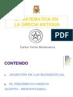 Matematica en La Grecia Antigua 5008