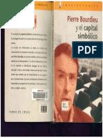 Pierre Bourdieu y el capital simbólico.pdf
