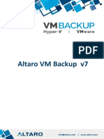 Altaro VM Backup 產品競爭優勢說明(Vexxm)