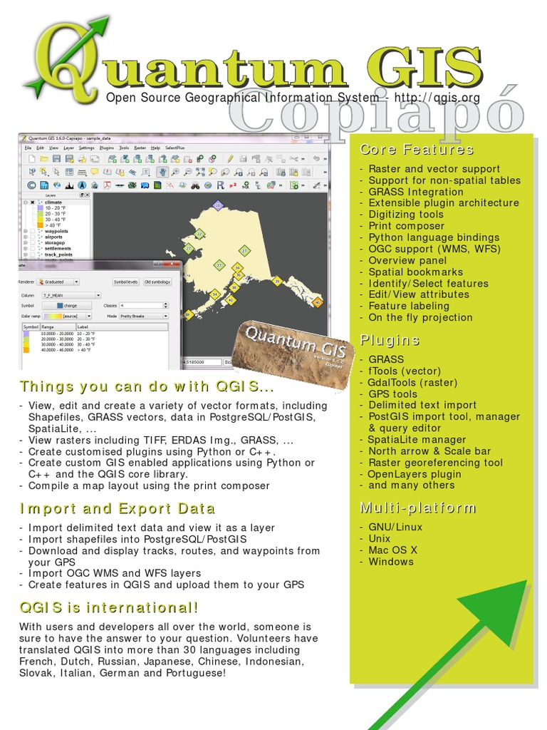 Qgis-1 6 0 2-Sided Brochure En | Geographic Information