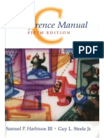 C-A Reference Manual (5th Edition)-013089592X