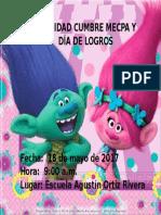 Invitacion Mecpa y Dia de Logros