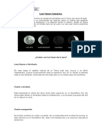 Fases Lunares y Eclipes
