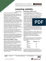 Measuring Salinity