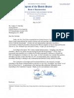 Jason Chaffetz Memo to the FBI