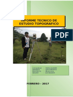 Informe Topografico Tres Unidos